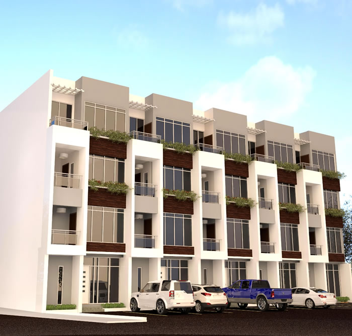real estate development of terraces and flats,in victoria island lagos