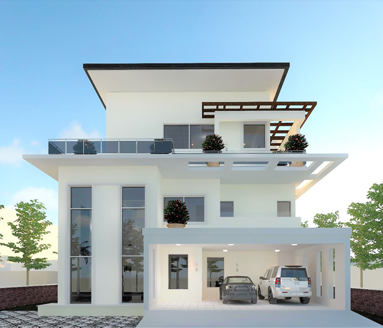 real estate project of duplexes developed by carrillion