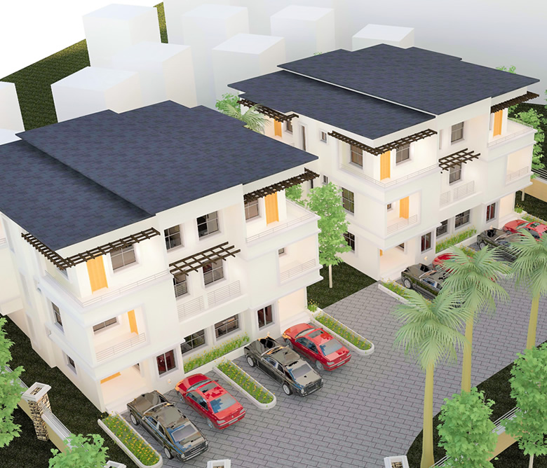 real estate duplexs in lekki, Lagos by carrillion Nigeria